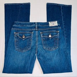 Womens True Religion jeans. Size 29. Ankle Flare.